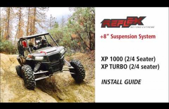 Reflex XP 1000 and XP Turbo install guide