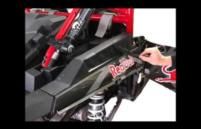 Reflex Air Intake Grill for RZR 1000/XP Turbu install guide